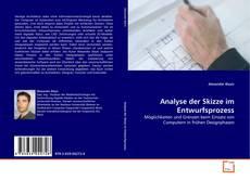 Buchcover von Analyse der Skizze im Entwurfsprozess