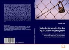 Bookcover of Sicherheitsmodelle für das Ajtai-Dwork-Kryptosystem