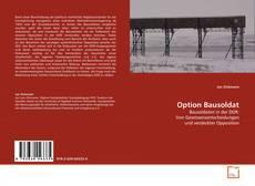 Borítókép a  Option Bausoldat - hoz