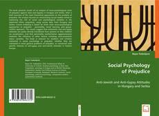 Bookcover of Social Psychology of Prejudice
