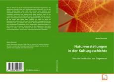 Capa do livro de Naturvorstellungen in der Kulturgeschichte