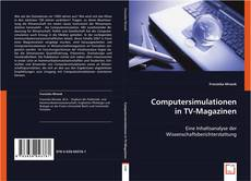 Buchcover von Computersimulationen in TV-Magazinen