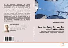 Buchcover von Location Based Services der Mobilfunkbetreiber
