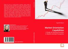 Capa do livro de Market Orientation Capabilities