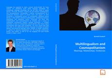 Capa do livro de Multilingualism and Cosmopolitanism
