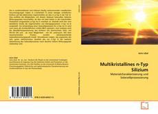 Borítókép a  Multikristallines n-Typ Silizium - hoz