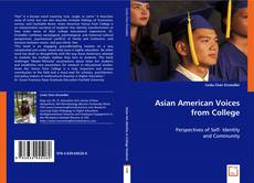 Asian American Voices from College的封面