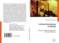 Bookcover of Luftverschmutzung in Peking
