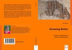 Knowing Better kitap kapağı