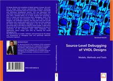 Buchcover von Source-Level Debugging of VHDL Designs
