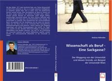 Buchcover von Wissenschaft als Beruf - Eine Sackgasse?