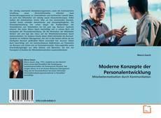 Buchcover von Moderne Konzepte der Personalentwicklung