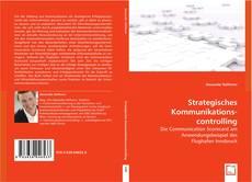 Capa do livro de Strategisches Kommunikations- controlling