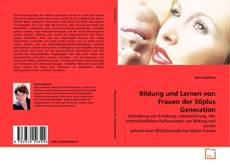 Portada del libro de Bildung und Lernen von Frauen der 50plus Generation