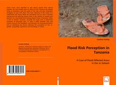 Flood Risk Perception in Tanzania kitap kapağı