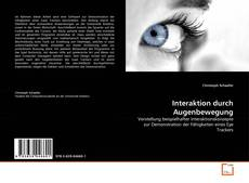Buchcover von Interaktion durch Augenbewegung