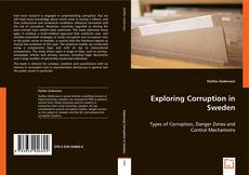 Portada del libro de Exploring Corruption in Sweden