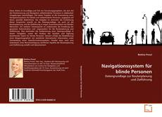 Navigationssystem für blinde Personen kitap kapağı