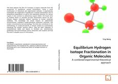 Обложка Equilibrium Hydrogen Isotope Fractionation in Organic Molecules