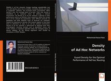 Density of Ad Hoc Networks的封面