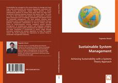 Couverture de Sustainable System Management