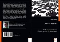 Bookcover of Haikai Poetics
