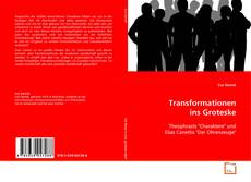 Bookcover of Transformationen ins Groteske