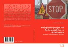 Bookcover of Erfolgsbedingungen für Rechtspopulisten in Skandinavien