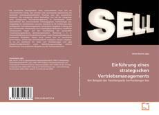 Einführung eines strategischen Vertriebsmanagements的封面