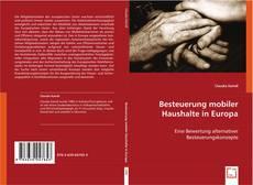 Capa do livro de Besteuerung mobiler Haushalte in Europa