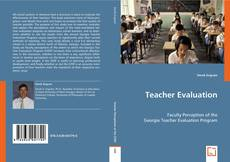 Couverture de Teacher Evaluation