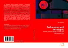 Buchcover von Performance and Philosophy