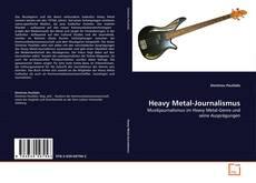 Buchcover von Heavy Metal-Journalismus