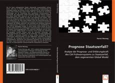 Portada del libro de Prognose Staatszerfall?
