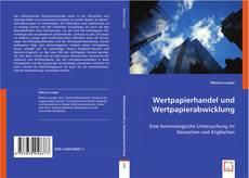 Couverture de Wertpapierhandel und Wertpapierabwicklung