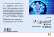 Couverture de An Empirical Analysis of Knowledge Production Function