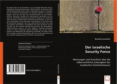 Der israelische Security Fence的封面