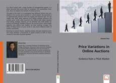 Price Variations in Online Auctions kitap kapağı