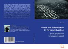 Buchcover von Access and Participation in Tertiary Education
