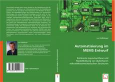 Bookcover of Automatisierung im MEMS Entwurf