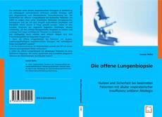 Die offene Lungenbiopsie kitap kapağı