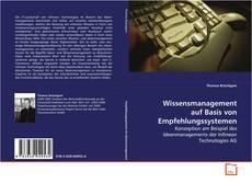 Bookcover of Wissensmanagement auf Basis von Empfehlungssystemen