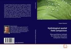 Copertina di Hydrological spatial field comparison