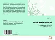 Bookcover of China's Korean Minority