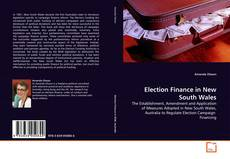 Buchcover von Election Finance in New South Wales