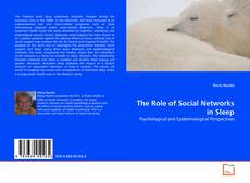 Capa do livro de The Role of Social Networks in Sleep