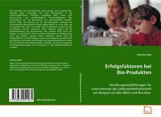 Обложка Erfolgsfaktoren bei Bio-Produkten