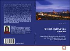 Bookcover of Politische Korruption in Italien