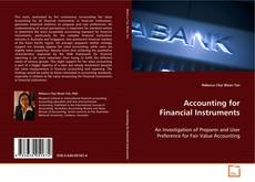 Bookcover of Accounting for Financial Instruments