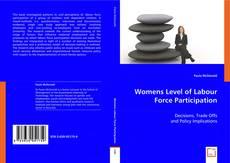 Copertina di Womens Level of Labour Force Participation